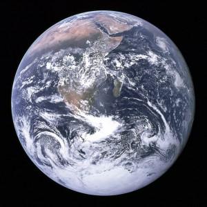 Earth [public domain, NASA]