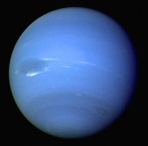 Neptune [public domain, NASA]