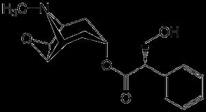 Scopolamine [CC-BY-SA-3.0 Steve Cook]