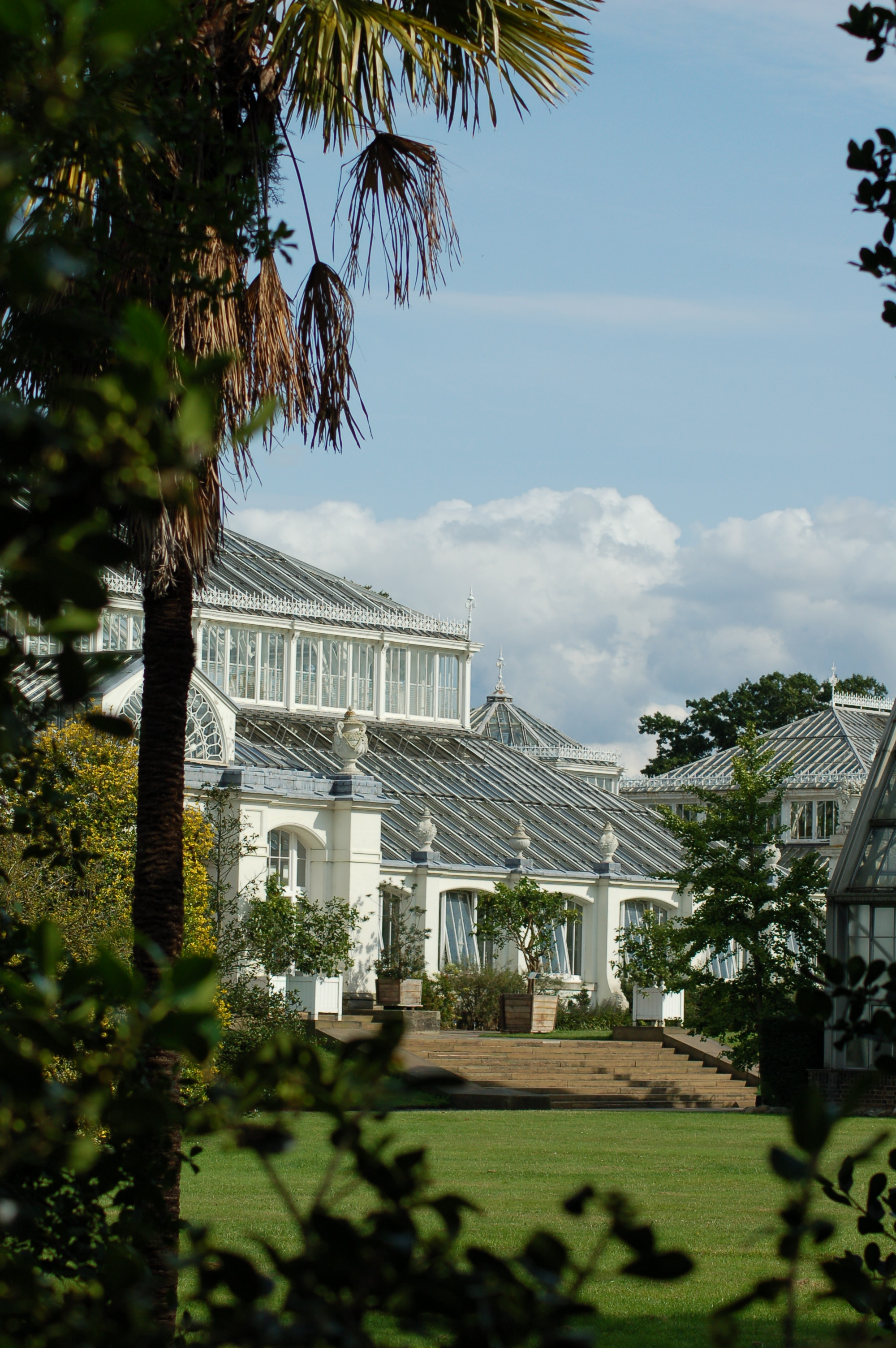 london temperate house in kew gardens