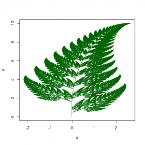 Barnsley fern [Public domain]