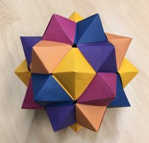 Compound of five octahedra [CC-BY-SA-3.0 Steve Cook]