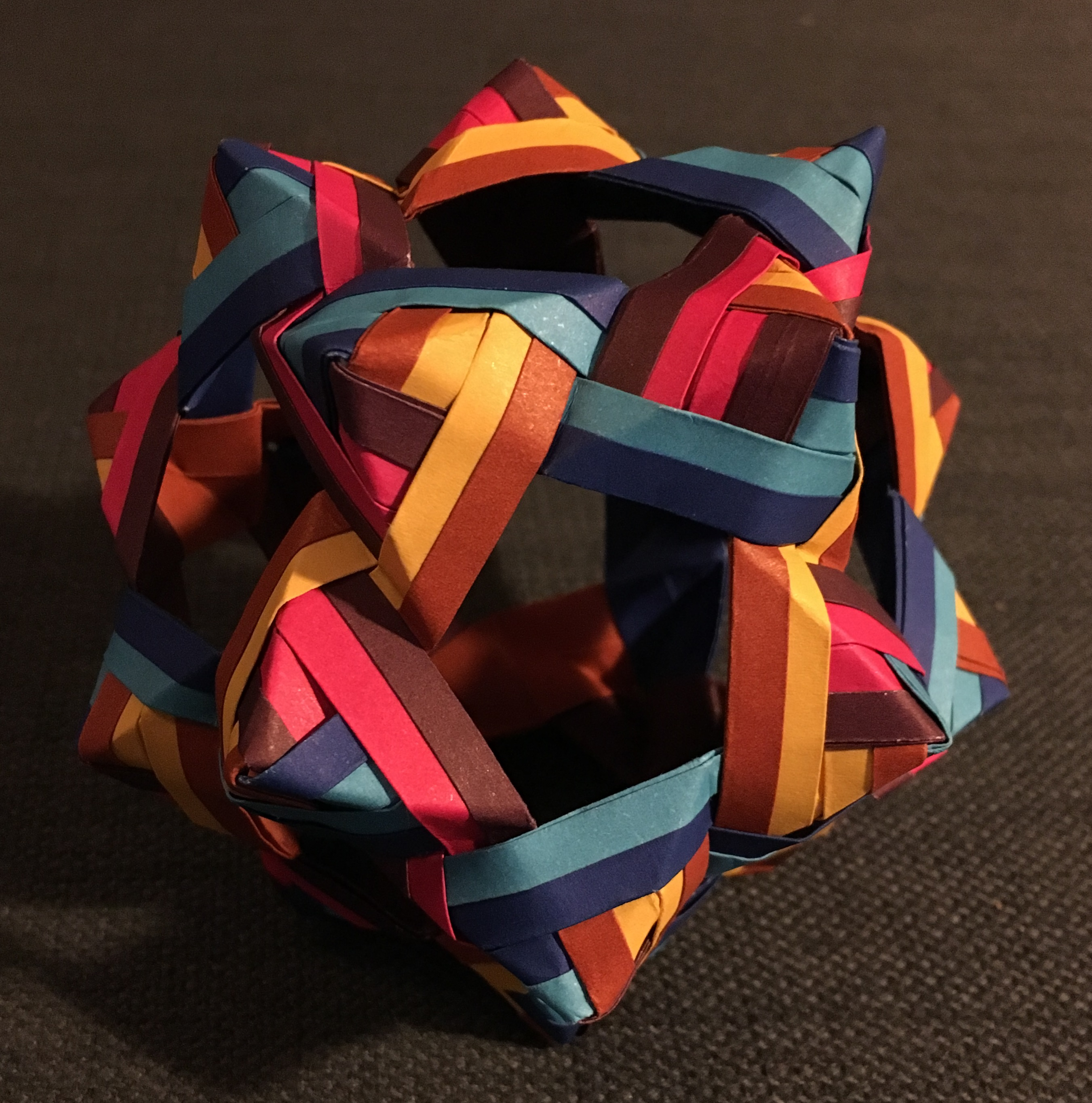 30 Unit PHiZZ Ball (modular Origami) : 3 Steps (with Pictures ... | 2728x2702