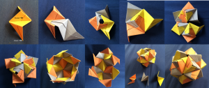Sonobe origami assembly [CC-BY-SA-3.0 Steve Cook]