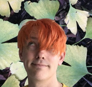 Steve with orange hair [CC-BY-SA Steve Cook]